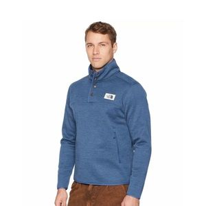 The North Face Mens Sherpa Patrol 1/4 Snap Sweater